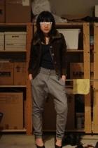 NET jacket - Zara pants - seychelles shoes