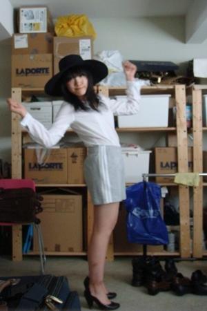 Esprit shirt - adidas shorts - Zara hat - seychelles shoes