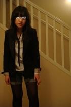 H&M blazer - Esprit shirt - shorts - tie