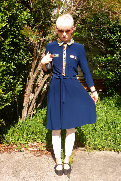 navy Leona Edmiston dress