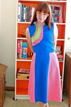 colorblock Manic Pop dress