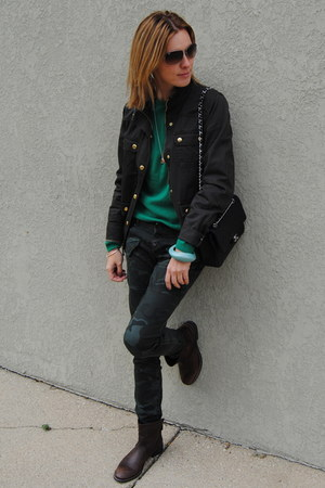 army green JCrew jacket
