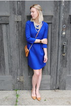 casablanca blue dress