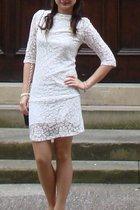 AX Paris dress - new look shoes - Primark stockings - Accessorize bracelet - Cla