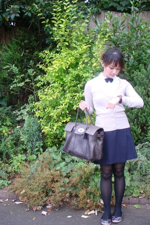 Tommy Hilfiger shirt - H&M sweater - American Apparel skirt - River Island shoes