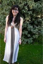 beige Nasty Gal dress