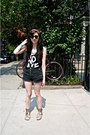 Black-high-waisted-topshop-shorts-black-cut-up-no-age-vest