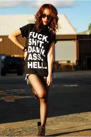 chick rock Up Vintage t-shirt