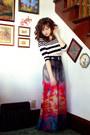 Striped-crop-topshop-shirt-how-very-dare-skirt