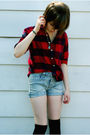 Blue-target-shorts-red-lands-end-shirt-blue-festival-of-nations-necklace-b