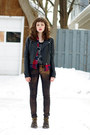 Doc-martens-boots-faux-leather-divided-jacket-guess-shirt