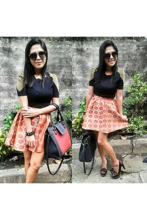 skirt - zappatto shoes - dress
