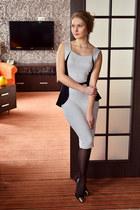 Aliexpress dress - Accessorize earrings - Taobao heels