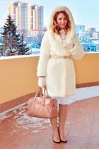 Anse coat - ARZOmania boots - Taobao jeans - Mango bag - Mango belt