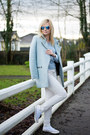 Stradivarius-coat-off-white-converse-flats