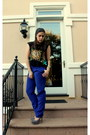 Embroidered-free-people-top-blue-madewell-pants