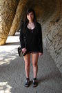 Black-zara-cardigan-black-h-m-top-black-topshop-shorts-black-shoes-black