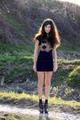 Black-zara-shirt-top-shop-skirt-black-top-shop-shoes