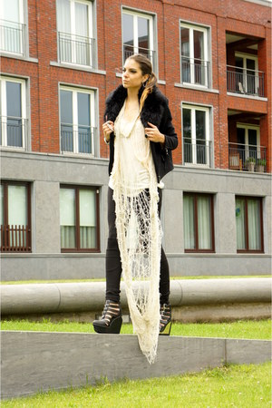 Religion top - Eleven Paris jacket - Jeffrey Campbell pumps