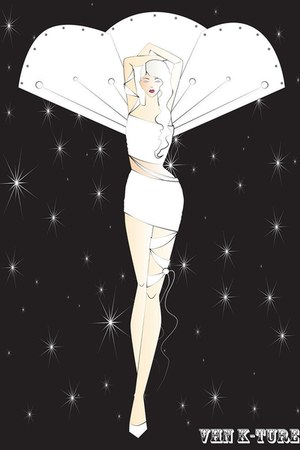ivory VHN K-Ture dress