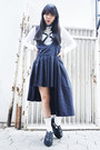 Unif-shoes-uniqlo-sweater-forever21-socks-ugly-skirt