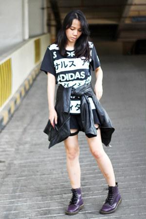 Dr Martens boots - Zara jacket - PINX shorts - bao bao accessories