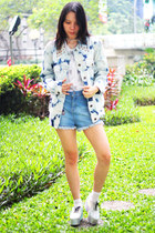 EMS Project shoes - Lunatic Pink Monster jacket - Tommy Hilfiger shorts