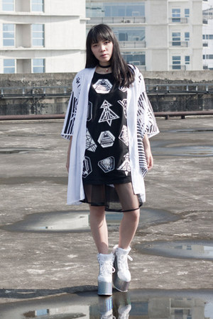 This Is A Love Song coat - AdHoc top - YRU wedges - Ruang Niskala necklace