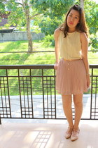 light yellow Mango dress