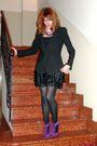 Black-zara-blazer-black-vintage-top-black-h-m-skirt-purple-suede-ruffled-s