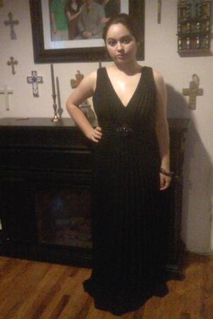 black David Meister dress