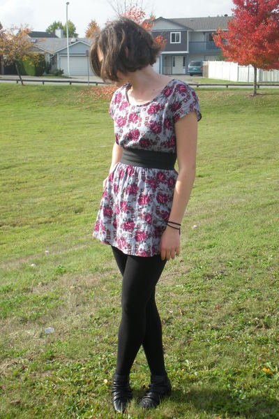 My Story dress - Lauren Conrad leggings - Spring boots