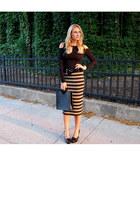 vintage Louis Vuitton bag - striped bailey 44 skirt