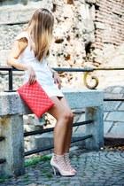 coral Castañer bag - neutral anteprima heels