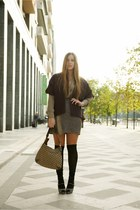 brown Niù dress - amethyst Niù sweater - light brown Gucci bag