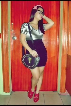 Shopaholic dress - random from Hong Kong shoes - bag - f21