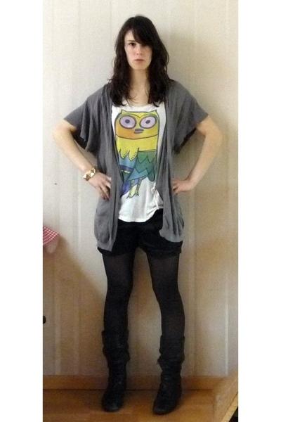 we shirt - Zara t-shirt - Bershka shorts