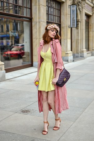 Zara dress - Celine sandals