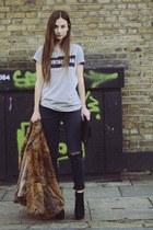 H&M jeans - Primark bag - Kurt Geiger heels