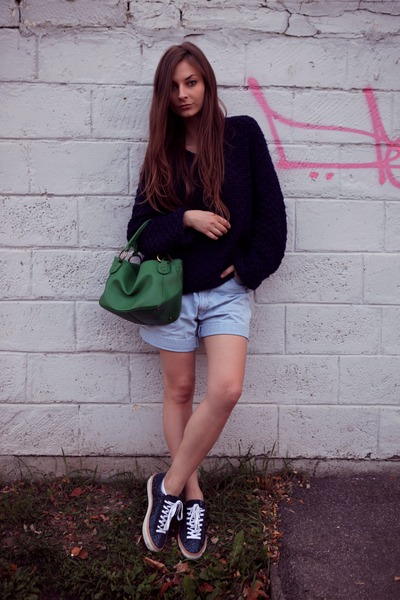 navy CristHelen B shoes - green green Topshop bag