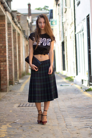 Vintage Plaid Skirt - How to Wear and Where to Buy | Chictopia