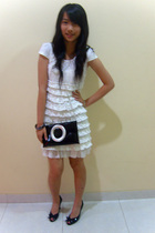 dress - bracelet - michelle cla shoes -