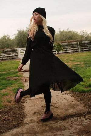 TUK shoes - flowy-sheer vintage dress