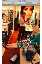 Koton dress - H&M - Zara belt - Tamaris shoes - Orsay - schmusi necklace