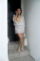 white Poison Berry blouse