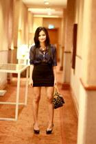 black bandage Tantease skirt