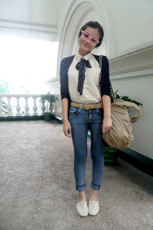 beige 11th of October blouse