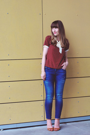 Forever 21 top - Jeffrey Campbell shoes - Zara jeans