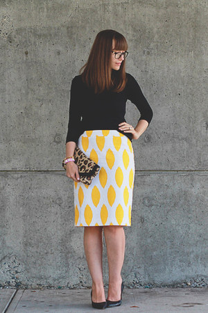 Cori Lynn skirt - Aldo shoes - Club Monaco sweater