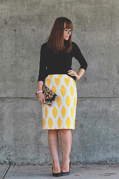 Cori Lynn skirt - Aldo shoes - Club Monaco sweater